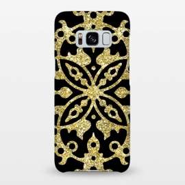 Galaxy S8+  Black and Gold Fashion Case by Alemi