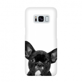 Black and White French Bulldog by Alemi