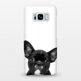 Galaxy S8+  Black and White French Bulldog by Alemi