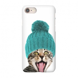 iPhone 8/7  Cat with Hat Portrait by Alemi
