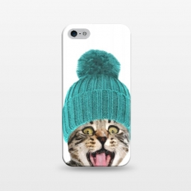 iPhone 5/5E/5s  Cat with Hat Portrait by Alemi