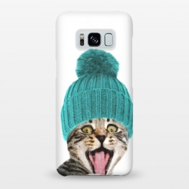 Galaxy S8+  Cat with Hat Portrait by Alemi