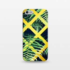 iPhone 5/5E/5s  Fern Gold Geometric by Alemi