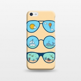 iPhone 5C  Sunglasses Landscape-2 by Coffee Man