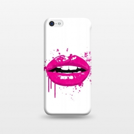 iPhone 5C  Pink Lips by Alemi