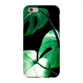 iPhone 6/6s  Green Monstera Leaves by Alemi