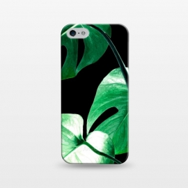 iPhone 5/5E/5s  Green Monstera Leaves by Alemi