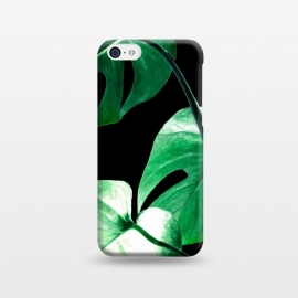 iPhone 5C  Green Monstera Leaves by Alemi
