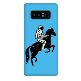 Galaxy Note 8  Astronaut and Horse by Coffee Man