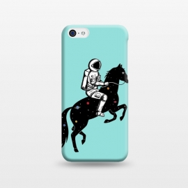 iPhone 5C  Astronaut and Horse 2 by Coffee Man