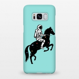 Galaxy S8+  Astronaut and Horse 2 by Coffee Man (astronaut, space man,galaxy,universe,horse,animal,animals lover, pet,nasa,space,creative)