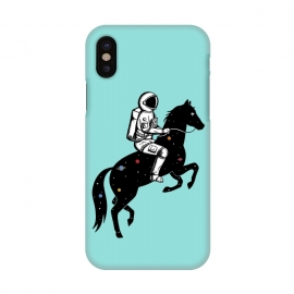 iPhone X  Astronaut and Horse 2 by Coffee Man