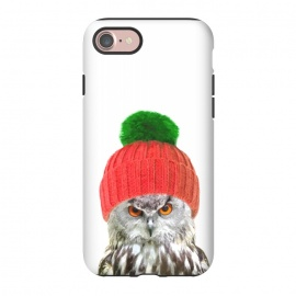 iPhone 8/7  Funny Owl Portrait by Alemi