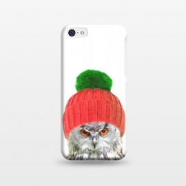iPhone 5C  Funny Owl Portrait by Alemi