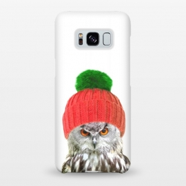 Galaxy S8+  Funny Owl Portrait by Alemi