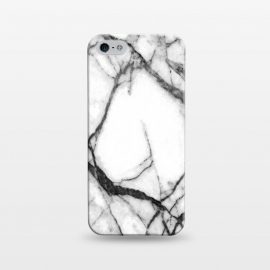 iPhone 5/5E/5s  Black and White Marble by Alemi