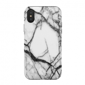 Black and White Marble by Alemi