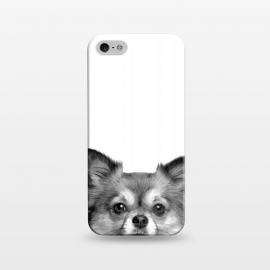 iPhone 5/5E/5s  Black and White Chihuahua Portrait by