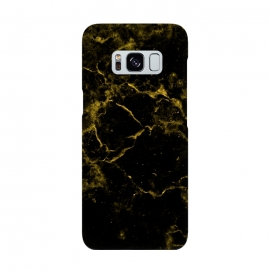 Black and Gold Marble by Alemi