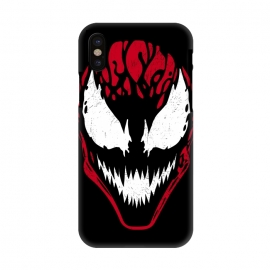 iPhone X  CARNAGE by  (carnage,carnage phone case,carnage art,carnage spider,carnage movie,carnage fan art,carnage is coming)