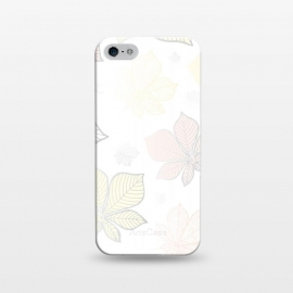 iPhone 5/5E/5s  Autumn Leaves Pattern XV by Bledi