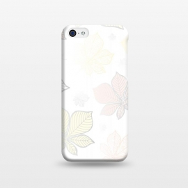 iPhone 5C  Autumn Leaves Pattern XV by Bledi