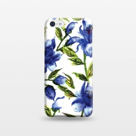 iPhone 5C  Floral Print V by Bledi