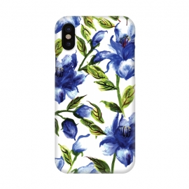 iPhone X  Floral Print V by Bledi
