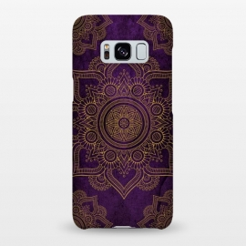 Galaxy S8+  Mandala in Purple  by Rossy Villarreal
