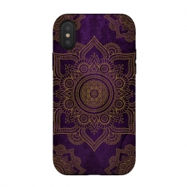 Mandala in Purple  by Rossy Villarreal
