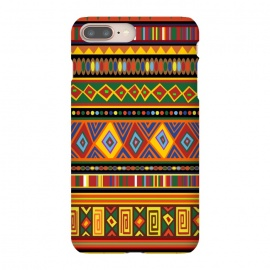 iPhone 8/7 plus  Ethnic Colorful Pattern Africa Art by BluedarkArt