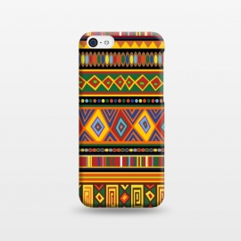 iPhone 5C  Ethnic Colorful Pattern Africa Art by BluedarkArt