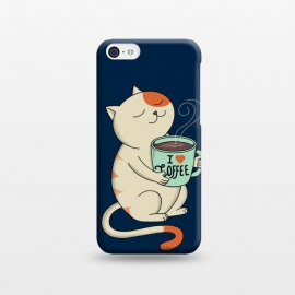iPhone 5C  Cat and Coffee 2 by Coffee Man