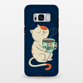 Galaxy S8+  Cat and Coffee 2 by Coffee Man