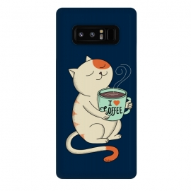 Galaxy Note 8  Cat and Coffee 2 by