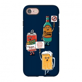 iPhone 8/7  Save Water Drink Beer by Coffee Man