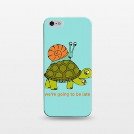 iPhone 5/5E/5s  Turtle and Snail-2 by Coffee Man