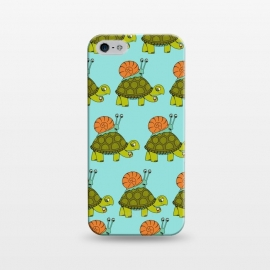 iPhone 5/5E/5s  Turtle and Snail Pattern by Coffee Man