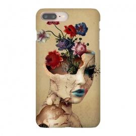 iPhone 8/7 plus  Broken Beauty by  (woman,flowers,floral,digitalart,art,surreal,cracked)