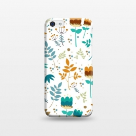 iPhone 5C  Happy Flowers I by Bledi