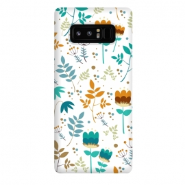 Galaxy Note 8  Happy Flowers I by Bledi