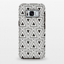 Galaxy S8 plus  Triangles Background VIII by