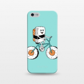 iPhone 5/5E/5s  Sushi Bicycle by Coffee Man (sushi,food, bike, bicy,cicycle,fun,funny,chinese food,cute,adorable,humor,sport,ride, kid,kids)