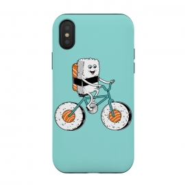 iPhone Xs / X  Sushi Bicycle by Coffee Man