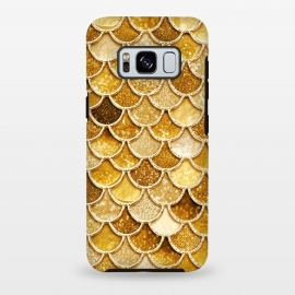 Faux Gold Glitter Mermaid Scales by Utart