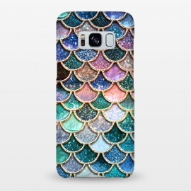 Galaxy S8+  Multicolor Spring Mermaid Scales by Utart