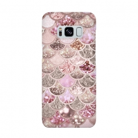 Multicolor Pink & Rose Gold Mermaid Scales by Utart