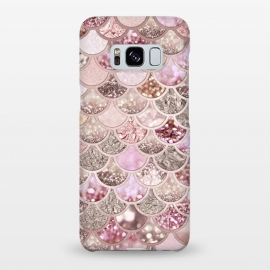 Galaxy S8+  Multicolor Pink & Rose Gold Mermaid Scales by Utart