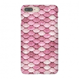 Rose Gold Pink Metal Mermaid Scales by Utart