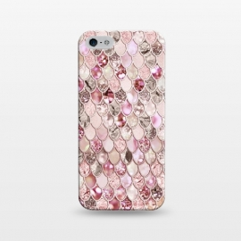 iPhone 5/5E/5s  Rose Gold Mermaid Scales by Utart